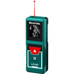 """Дальномер KRAFTOOL """"LD-40"""" лазерный, дальность 5см - 40м, точность 1,5 мм / 34763"""